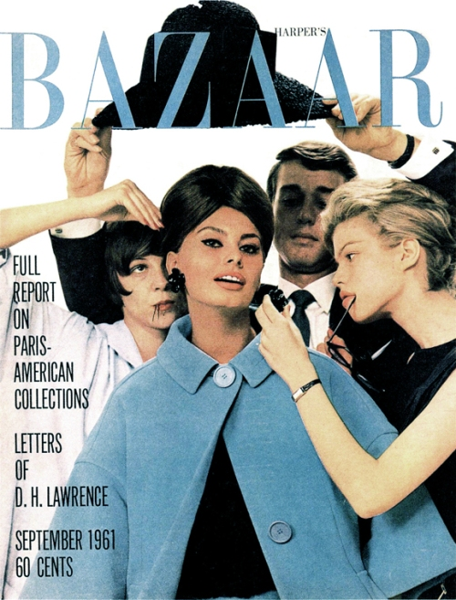 Harpers Bazaar September 1961 - Cover